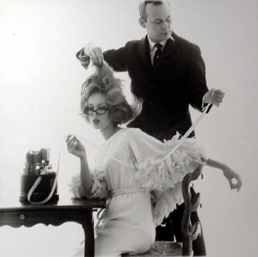 Bert Stern, Kenneth and Monique for Vogue, April 15, 1962