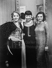 Alfred Eisenstaedt, Marlene Dietrich, Anna May Wong, and Leni Riefenstahl at Artists' Ball, Berlin, 1928