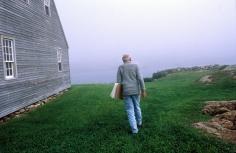 Harry Benson, Andrew Wyeth, Maine, 1996