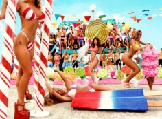 David LaChapelle, Bikini Girls in Candyland Competition, 1994