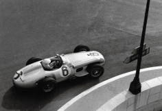 Jesse Alexander, Mercedes W196, Moss, Monaco, 1955