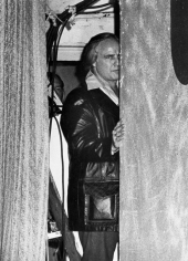 Ron Galella, Marlon Brando, Ramsey Clark Benefit, Apollo Theater, New York 1974