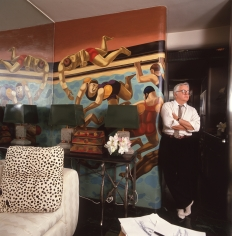 Harry Benson, Geoffrey Beene, Westhampton Beach, 1988