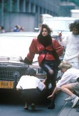 Harry Benson, Cindy Crawford, New York, 1985
