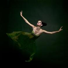 Melvin Sokolsky, Green Angel (Dorothea McGowan), New York, 1965