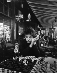 Daniel Kramer, Bob Dylan Playing Chess, Woodstock, New York, 1964