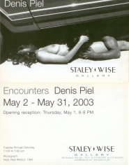 Denis Piel, Exhibition Invitation