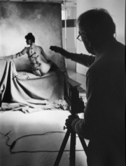 Horst P. Horst, Horst P. Horst (Photographing nude in studio) , 1982