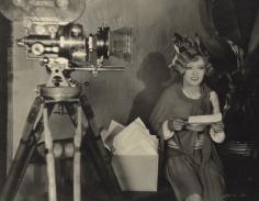James Manatt, Marion Davies with Camera, early 1930s