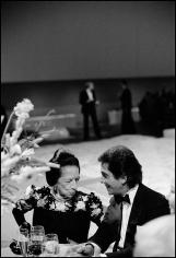 Arthur Elgort, Valentino with Diana Vreeland, 1982