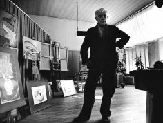 Robert Doisneau, George Braque dans son Atelier de la rue du Dainer, 1953