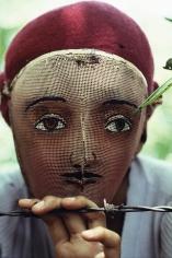 Susan Meiselas, Traditional Indian dance mask, Nicaragua, 1978