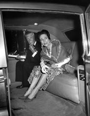 Ron Galella The Duke and Duchess of Windsor at the opening of Wildenstein Gallery, NYC, May 21, 1968