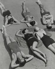George Hoyningen-Huene, Swimwear by Patou, Molyneux, and Yrande, 1930