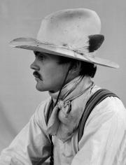 Kurt Markus, Tim McGinnis, LS Ranches, Montello, Nevada, 1982
