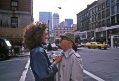Harry Benson, Marisa Berenson and Swifty Lazar, New York, 1982