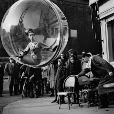 Melvin Sokolsky, With Chair, Paris, 1963