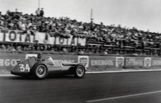 Jesse Alexander, Juan Fangio, Reims, 1958