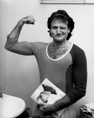 Ron Galella, Robin Williams, NY Police Bullet Proof Benefit, Schubert Theatre, New York, 1979