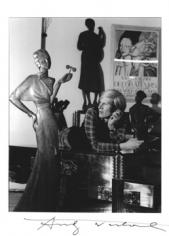 Horst,  Andy Warhol, 1983