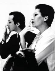 Rose Hartman, Elsa Peretti and Fred Hughes at the Marlborough Gallery, 1992
