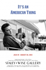It's An American Thing, Exhibition Invitation