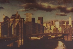 Sheila Metzner, Brooklyn Bridge. Hokusai Series. 2007.