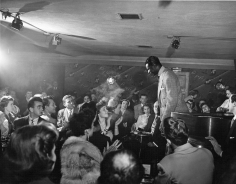 Phil Stern, Nat Kind Cole, Hollywood Night Club, c.1940