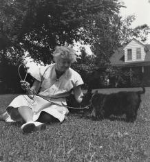 Genevieve Naylor, Eleanor Roosevelt, circa 1956-1957