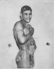 ​Genevieve Naylor, Joe Louis in Shower, 1937