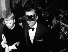 Harry Benson Frank Sinatra and Mia Farrow at Truman Capote's 'Black and White Ball', Plaza Hotel, New York, 1966