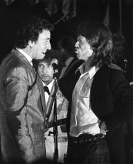Ron Galella, Bruce Springsteen, Mick Jagger, and Bob Dylan, 1988