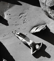 Louise Dahl-Wolfe, Rubber Bathing Suit, California, 1940