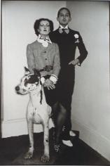 Chris Von Wangenheim, Fred Hughes and Model as Duke and Duchess of Windsor
