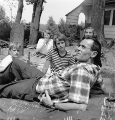 Genevieve Naylor, Henry Fonda, Jane Fonda, and Family, circa 1949