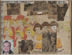 Henry Darger  Untitled (She Got to Sit on Ringo's Lap), c. 1966-67