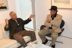 Frank Stella and Larry Bell