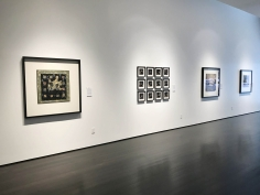 installation photo: Stephanie Wilde: Murder of Crows, Forum Gallery, New York, NY, May 31 - June 29, 2018