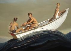Bo Bartlett, The Promised Land, 2016, oil on linen, 88 x 120 inches