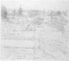 anthony mitri, Untitled (13), 1999, graphite on white paper, 10 x 11 1/4 inches