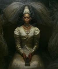 Steven Assael, Apiim, 2015, oil on canvas, 72 x 60 inches