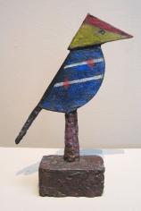 Max Weber, Colored Bird, 1960, bronze, 5 3/4 x 4 x 3 inches