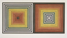 Frank Stella, Double Gray Scramble, 1973, screenprint