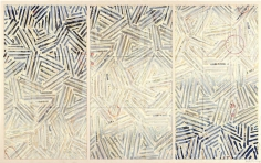 Jasper Johns, Usuyuki, 1981, Screenprint