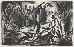 Jackson Pollock, Ritual Scene, 1937, Lithograph