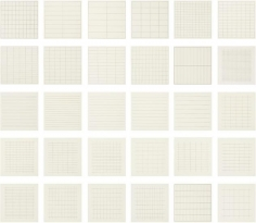 Agnes Martin, On A Clear Day, 1973, Screenprints