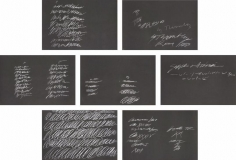 Cy Twombly, 8 Odi di Orazio, 1968, Suite of seven screenprints