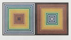 Frank Stella, Double Gray Scramble, 1973, screenprint