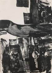 Robert Rauschenberg, Breakthrough I, 1964, Lithograph
