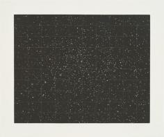 Vija Celmins, Strata, 1983, Mezzotint
